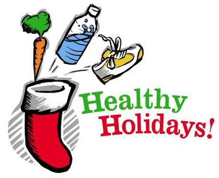 Healthy holidays illustration